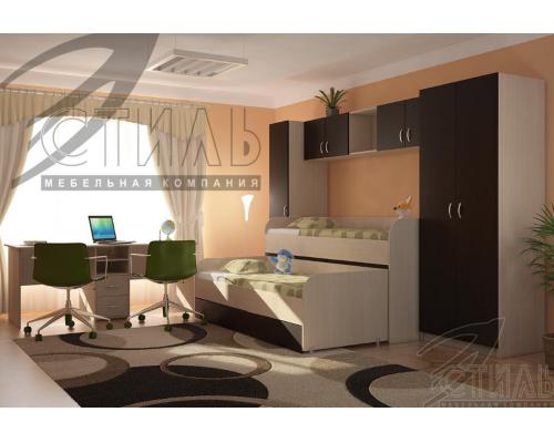 Кровать 2-х уровневая(верхняя) Мийа 2 (2032*990*848)