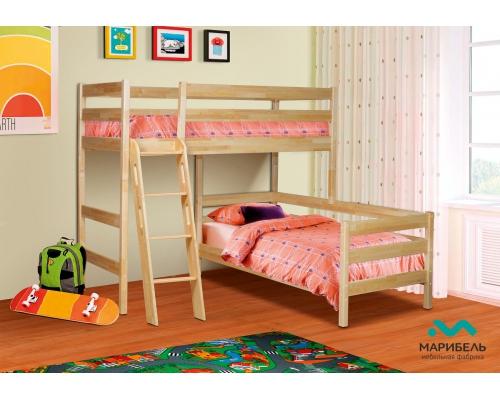 Кровать двухъярусная (2080х1702х2080) МБЛЬ