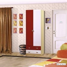 Юниор-2 ДМ-1 Шкаф для детского платья и белья