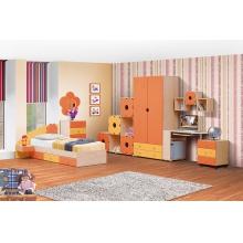 Шкаф для платья и белья 2-х дв. с ящ  Набор мебели «СОЛНЫШКО» фасад МДФ