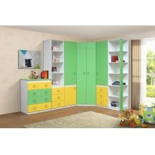 """Комод Модуль №6 (зелено/желтый)  Из набора детской мебели """"Горка3Д"""""""