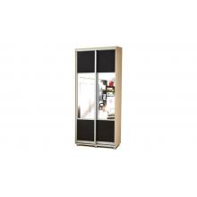 Шкаф-купе 2-х дверный с ящиками(1000*2100*490)