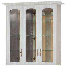 Шкаф для посуды с зеркалами В-9 Венеция (1083*1228*370)