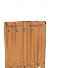 Вешалка напольная для полотенец В.дт.3