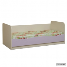 Юниор-5 (Цветочек) Кровать 1900*1900