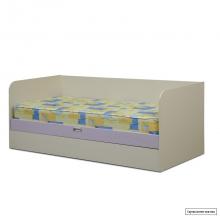 Юниор-5 (Цветочек) Кровать с подъемным механизмом 1900*800