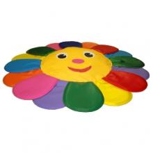 Подушка напольная «Солнышко большое»  (гранулы и поролон)