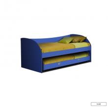 Юниор-4 (Парус) Кровать выдвижная