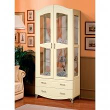Шкаф-витрина для посуды  2-х дверный Аврора-15(920х2128х440) (ВМК)
