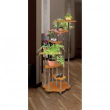 Цветочница-2 МДФ (стол декоратив.) дерево(720х1272х720)(Аджио)