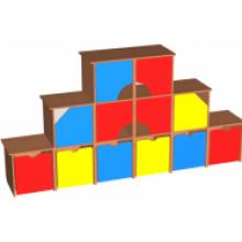 """Стенка """"Кубик-рубик"""""""