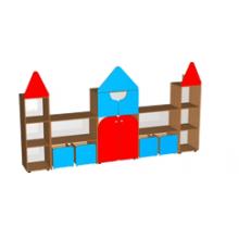 Стенка для игрушек и пособий