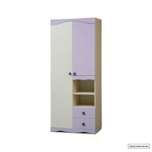 Юниор-5 (Цветочек) Шкаф для детского платья и белья