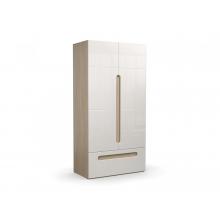 Шкаф 2-х створчатый с ящиком «Палермо» (1068*540*2100) (ЭКО)