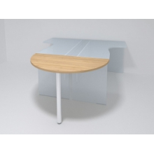 Приставка для стола полукруглая 50ПЭ/2-27 1380*450*Н750 мм.