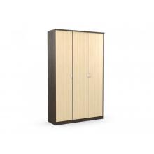 Шкаф 3-х створчатый «Дуэт Люкс» (1415*450*2300) (ЭКО)