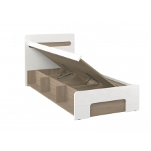 Кровать Палермо-Юниор 900 (932*2064*802) (ЭКО)
