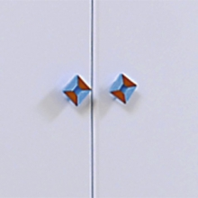 Ручка-кнопка прорезиненная