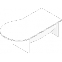 Стол для руководителя Л.У-21
