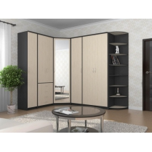 Шкаф комбинированный «Дуэт Люкс»  (1500*450*2300) (ЭКО)