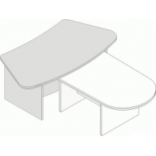 Стол приставка Л.БР-14