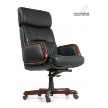 Кресло руководителя CHAIRMAN 417 (кожа)
