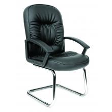 Кресло посетителя CHAIRMAN 418 V (экокожа)
