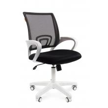 Кресло оператора CHAIRMAN 696 White (ткань)