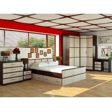 """Кровать """"Сакура"""" 1,4м. 1435x800x2035"""