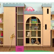 """Шкаф  3 секции из набора детской мебели """"Горка 2Д"""" фасад МДФ"""