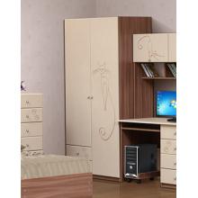 Шкаф для платья и белья 2-х дв.с ящ. «МЯУ»(1001х2020х580)