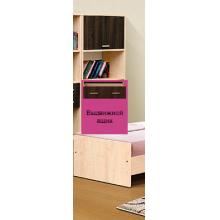 """Шкаф многоцелевой (1 дверь+3 ящика) Модуль №3 Из набора деткой мебели """"Горка 19Д"""""""
