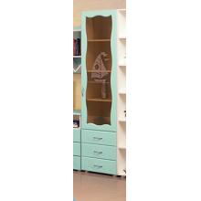 Шкаф для книг Набор мебели «МОРЕ» фасад МДФ