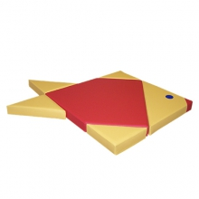 «Конструктор «Мат-головоломка «Рыбка» 6 элементов