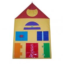 «Домик» игрушка настенная дидактическая