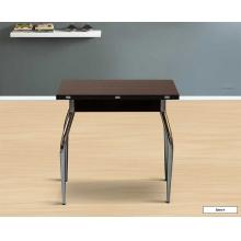 Стол обеденный раздвижной-книжка В-1 800*600 ЛДСП на мет. опорах
