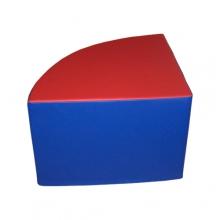 «Пуфик угловой сектор» (размеры на выбор)