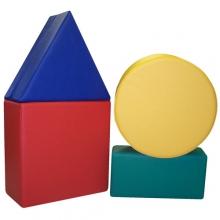 «Конструктор – 7» 4 элемента «Геометрические фигуры» 0,23 м3