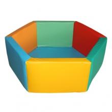 «Сухой бассейн «Шестигранник» без аппликации (размеры на выбор)