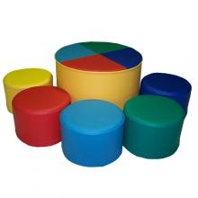 «Веселая компания»  комплект мягконабивной мебели