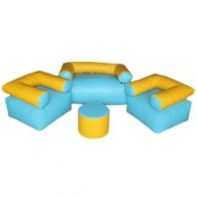 «Релакс» комплект мягконабивной детской мебели