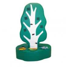 «Дидактическое дерево 3 сезона»  игрушка напольная дидактическая из 2-х частей