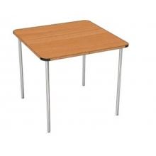 Стол квадратный на цельном металлическом каркасе С.ДТ.1 ( размеры на выбор)