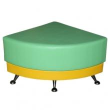 «Пуфик УГЛОВОЙ к прямому дивану»