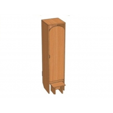 Шкаф 1-местный Ш.ДТ.1.1 (332*330*1400)