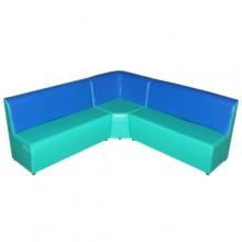 «Сатурн»  комплект мягкой угловой мебели - (3+1+3)
