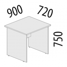 Стол рабочий Альфа 63.18