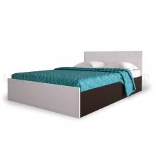 """""""Афина"""" кровать 1,4м ПВХ глянец"""