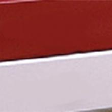 Фасад комбинированный МДФ из двух цветов пленок ПВХ