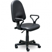 Кресло оператора Prestige Lux (кожзам)
